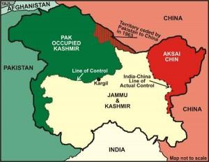 Kashmir-Map
