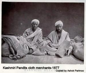 Kashmiri Pandit cloth merchants-1877