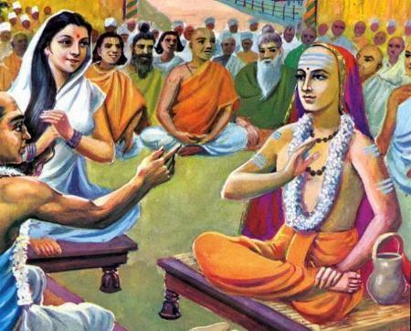 Mandana-Misra-and-AdiShankaras-debate
