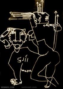 22-goddess-durga-mf-husain-painting-controversy