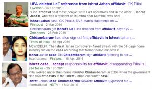 UPA changes Ishrat afidavit