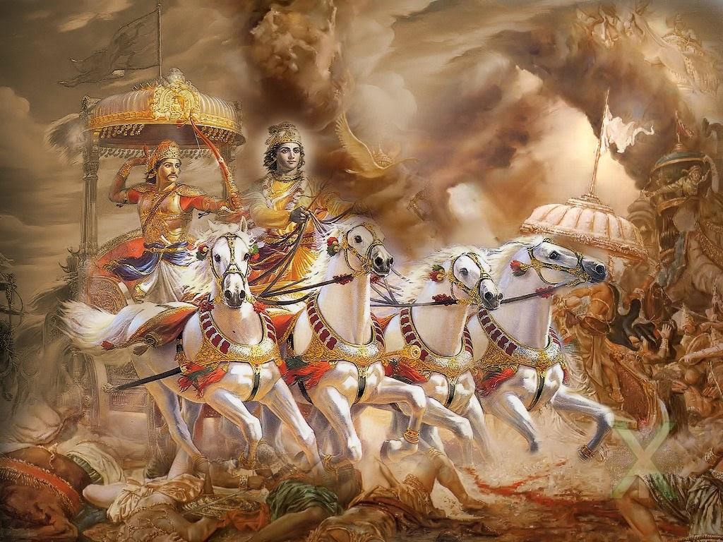 lord-krishna-arjun-mahabarath-10